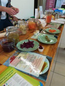 Dégustation de produits fermentés